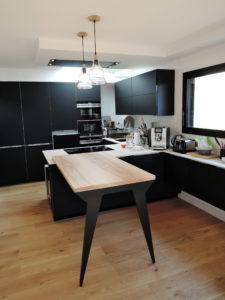 ARTMETA mobilier sur mesure table de cuisine