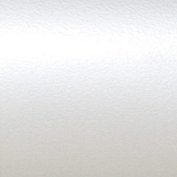 Échantillon de thermolaquage blanc nacré