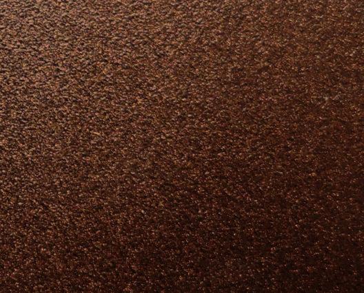 Échantillon de thermolaquage marron cuivré