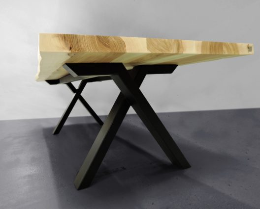 Table bois acier Viking / ARTMETA