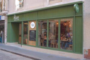 ARTMETA tables du restaurant Rice Trotters Paris