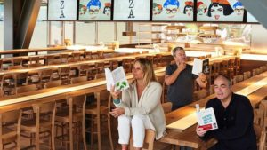 ARTMETA / ZA restaurant Paris avec Philippe starck