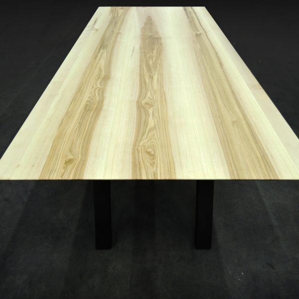 ARTMETA table élémentaire acier et bois massif