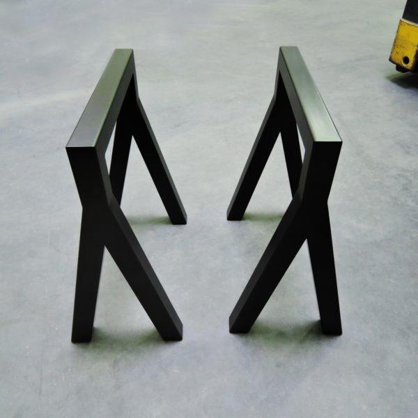 ARTMETA design Tréteau Y en acier