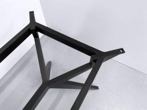 Pied de table Papillon sur mesure / aluminium pleine masse