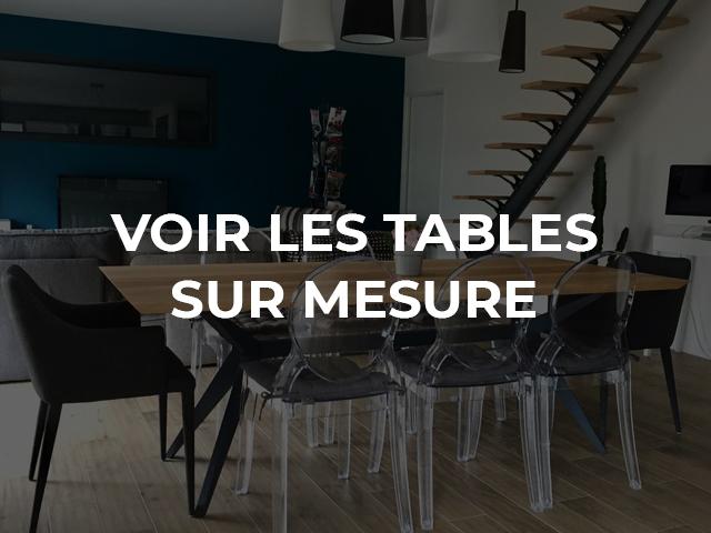 ARTMETA tables sur mesure chez vous