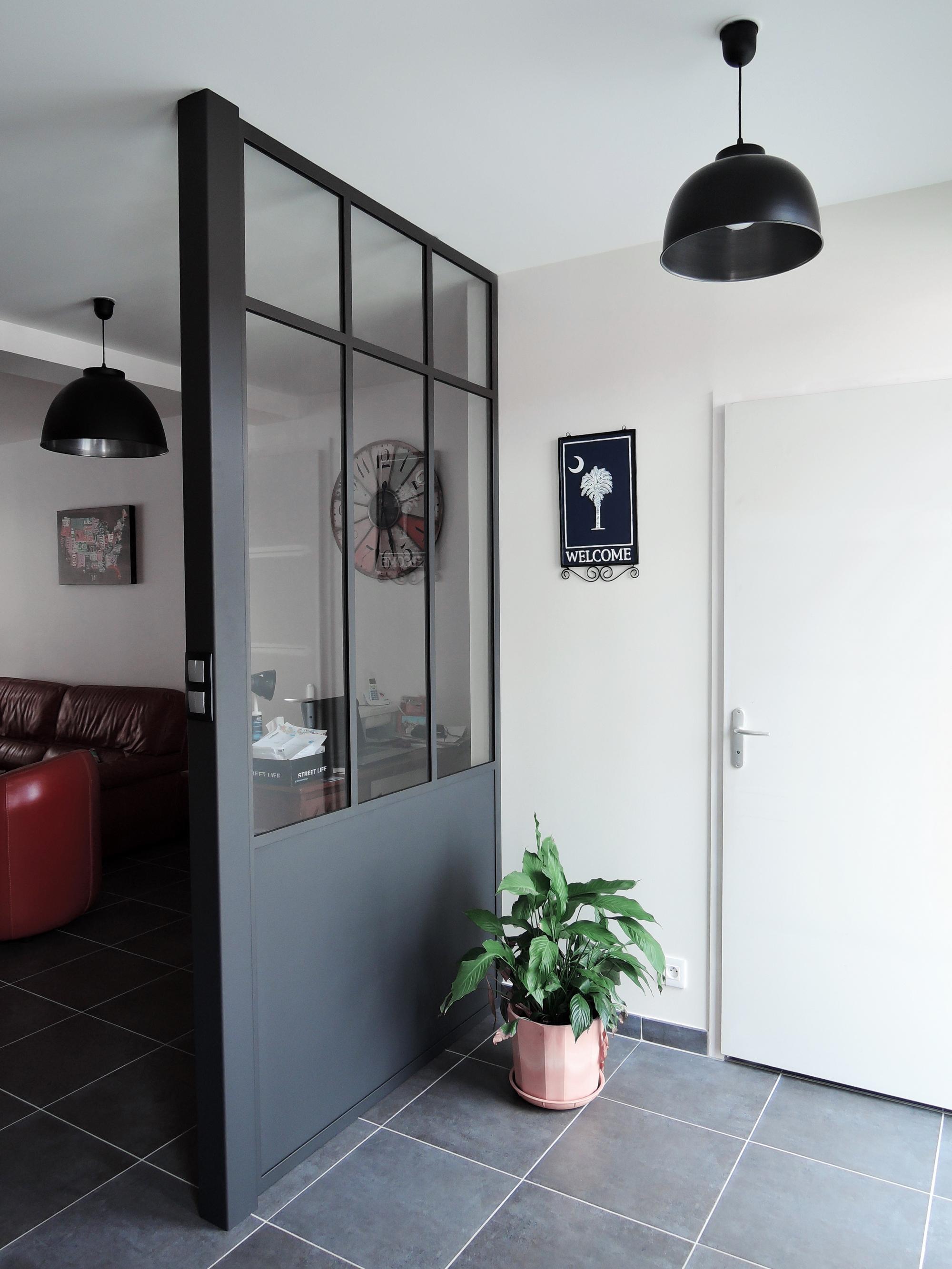 verri re 1 trav e acier fabrication artisanale fran aise sur mesure. Black Bedroom Furniture Sets. Home Design Ideas
