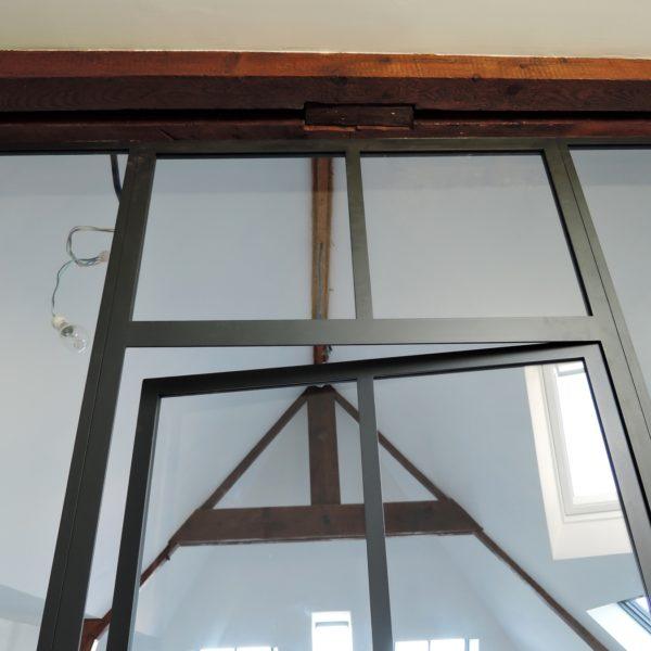 ARTMETA verrière intérieure en acier normandie
