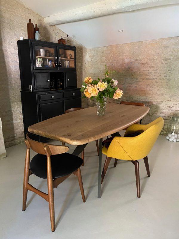 Table Meduse / 180x90xH75 cm / Chêne authentique