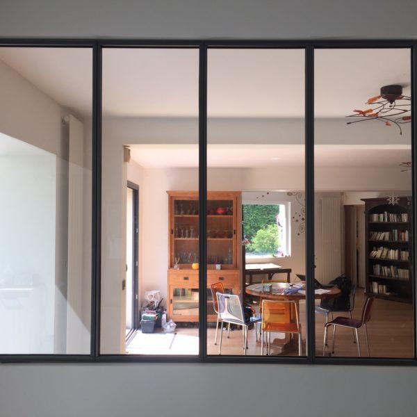ARTMETA verrière intérieure en acier