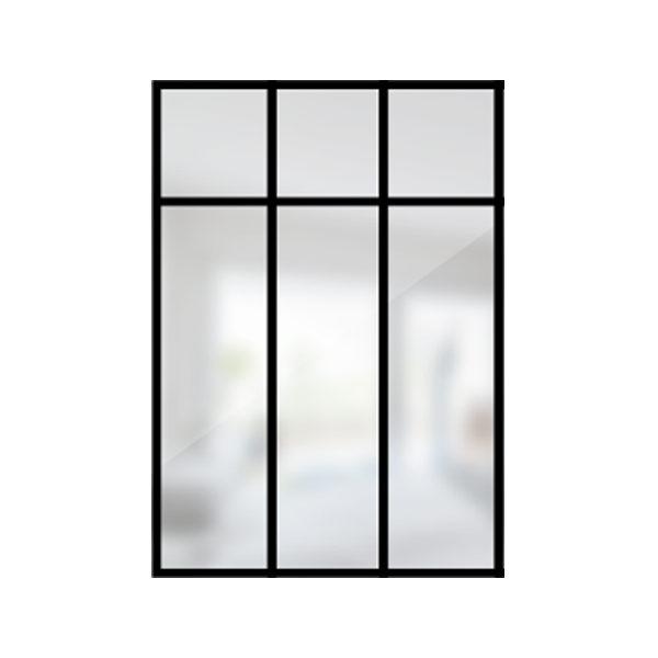 ARTMETA / verrière loft 3 travées acier