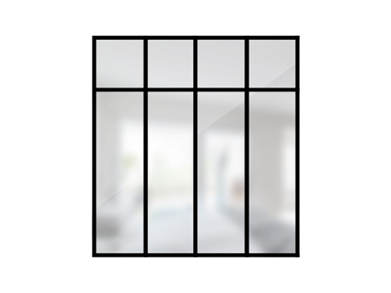 ARTMETA / verrière loft 4 travées