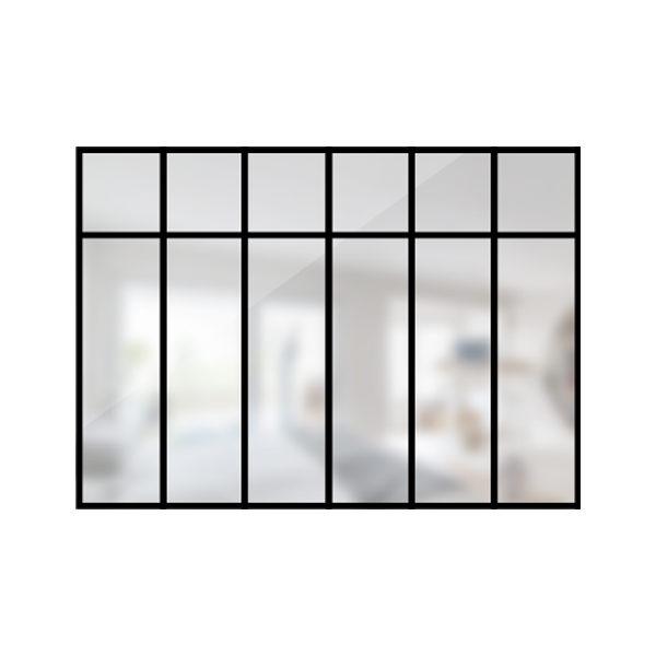 ARTMETA / verrière loft 6 travées