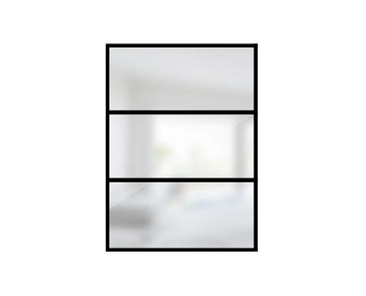 ARTMETA / verrière orangerie 3 verres
