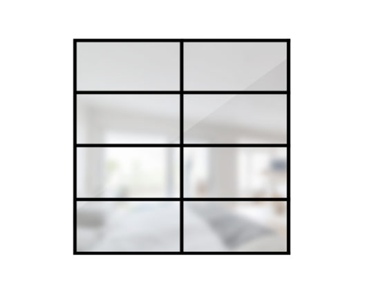 ARTMETA / verrière orangerie 8 verres