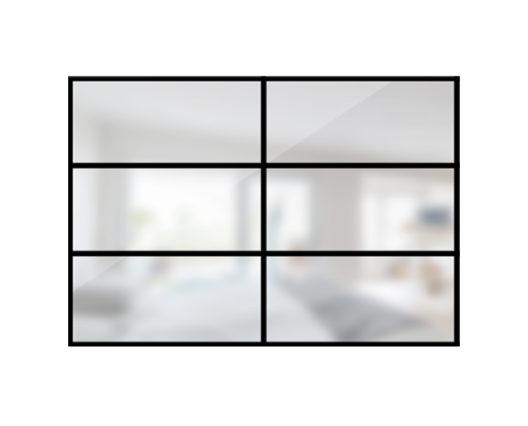 ARTMETA / verrière orangerie 6 verres