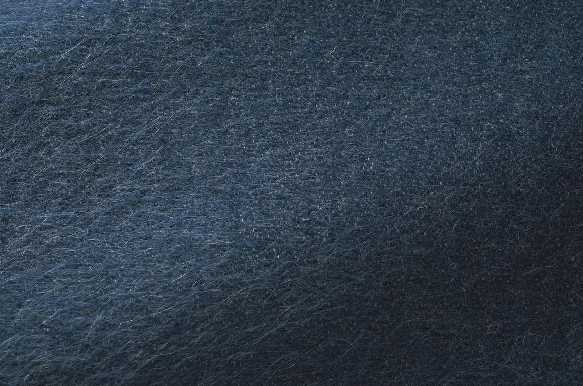 Échantillon de tissu yéti encre