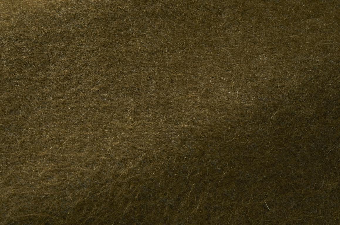 Échantillon de tissu yéti olive