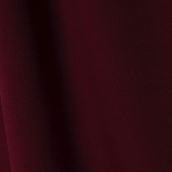 Échantillon de tissu velours grenat