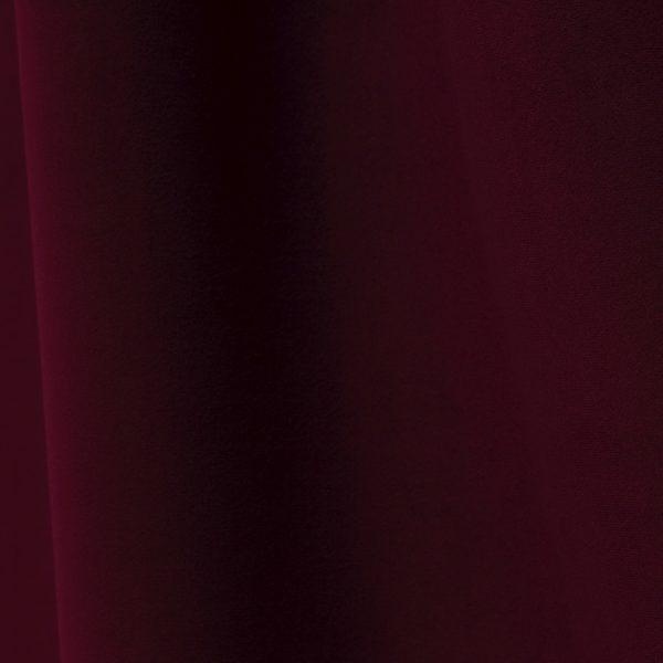 Échantillon de tissu velours bordeaux