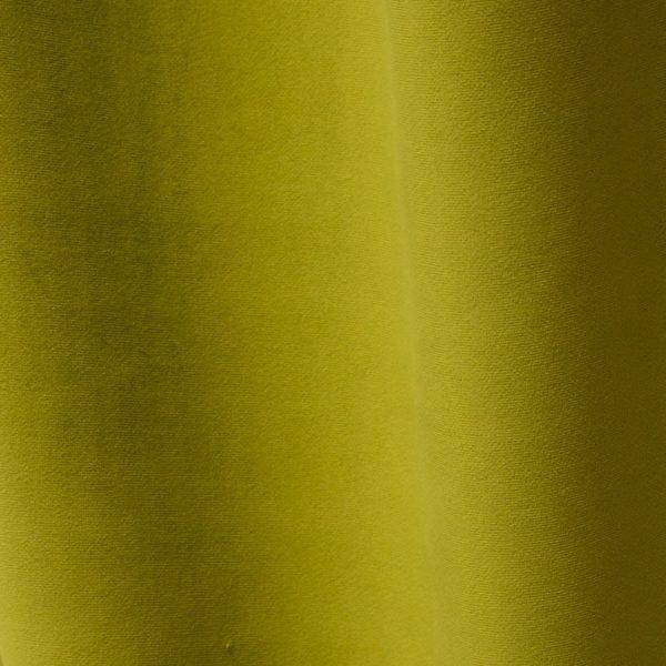 Échantillon de tissu velours tilleul