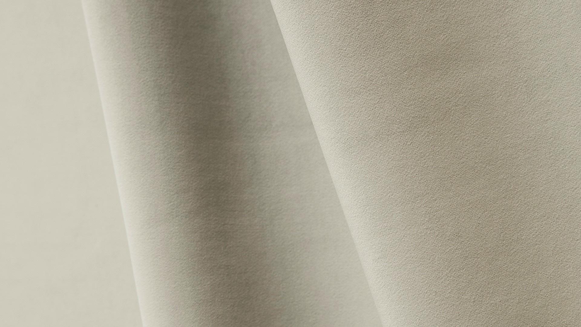 Échantillon de tissu velours sable