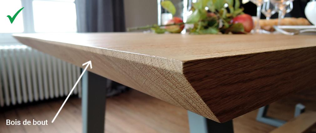 ARTMETA / comment reconnaitre du bois massif
