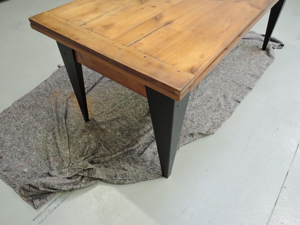 Comment relooker votre ancienne table  Avant / Après