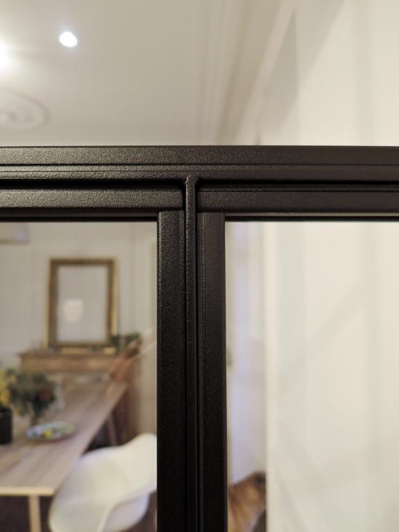 ARTMETA / réalisations / verrière intérieure / style atelier