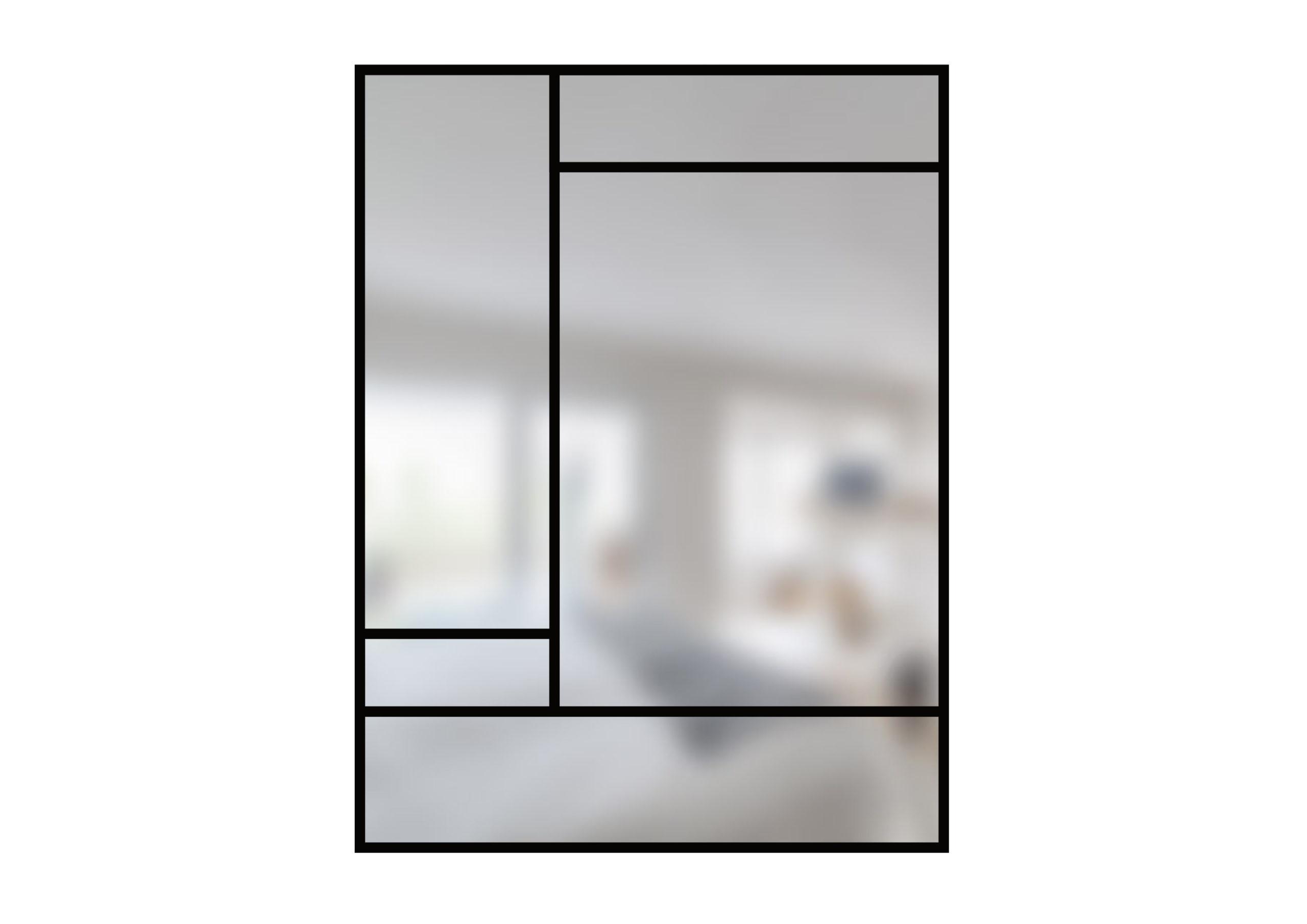 ARTMETA verrière art deco de 5 verres N°1