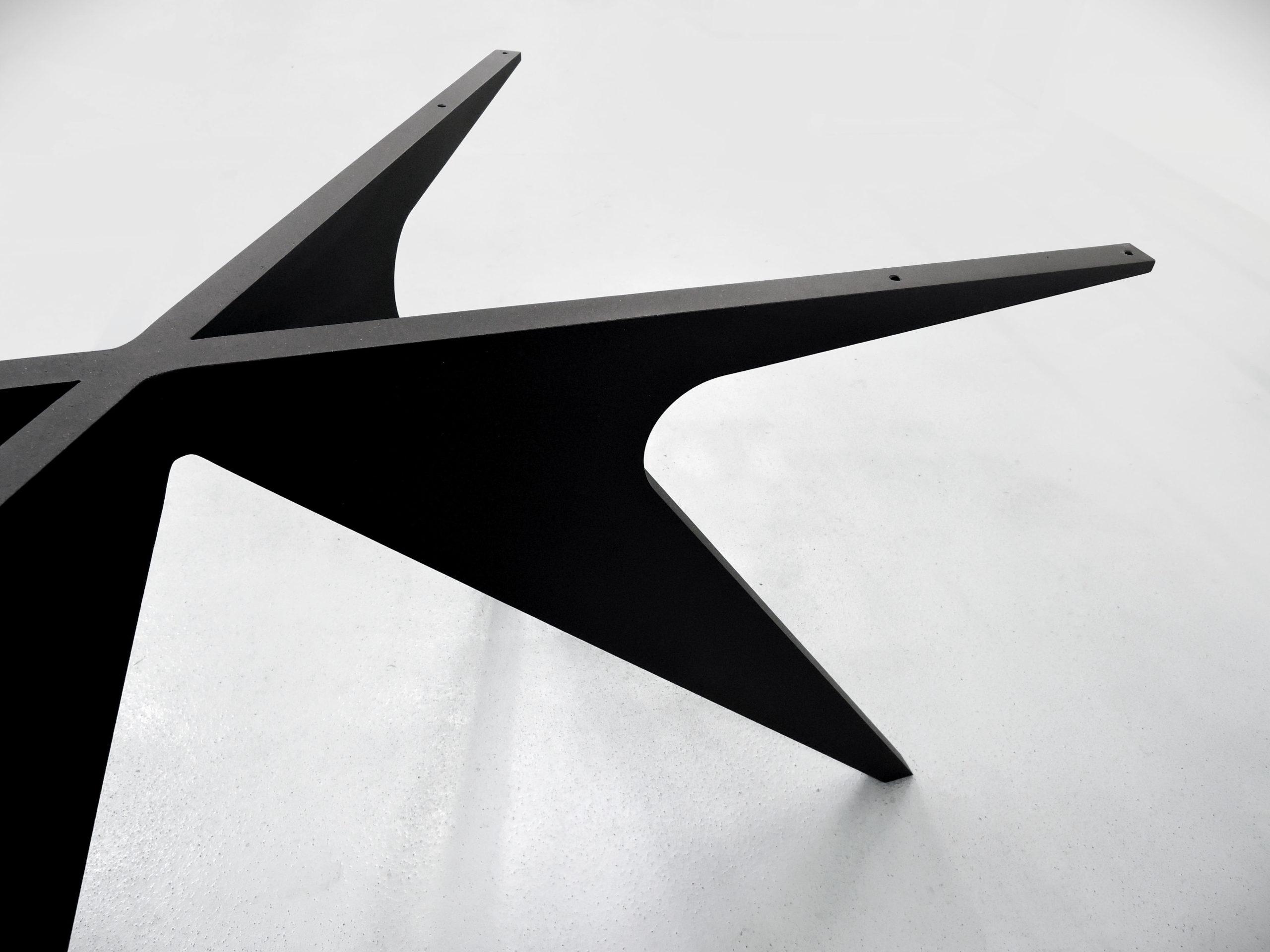 ARTMETA pied de table Méduse en aluminium sur mesure / Table Méduse