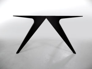 ARTMETA pied de table Méduse en aluminium sur mesure / Table Méduse