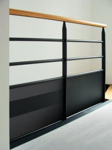 ARTMETA / Réalisations menuiserie métallique / escalier