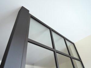 ARTMETA / réalisations / verrière intérieure / style loft