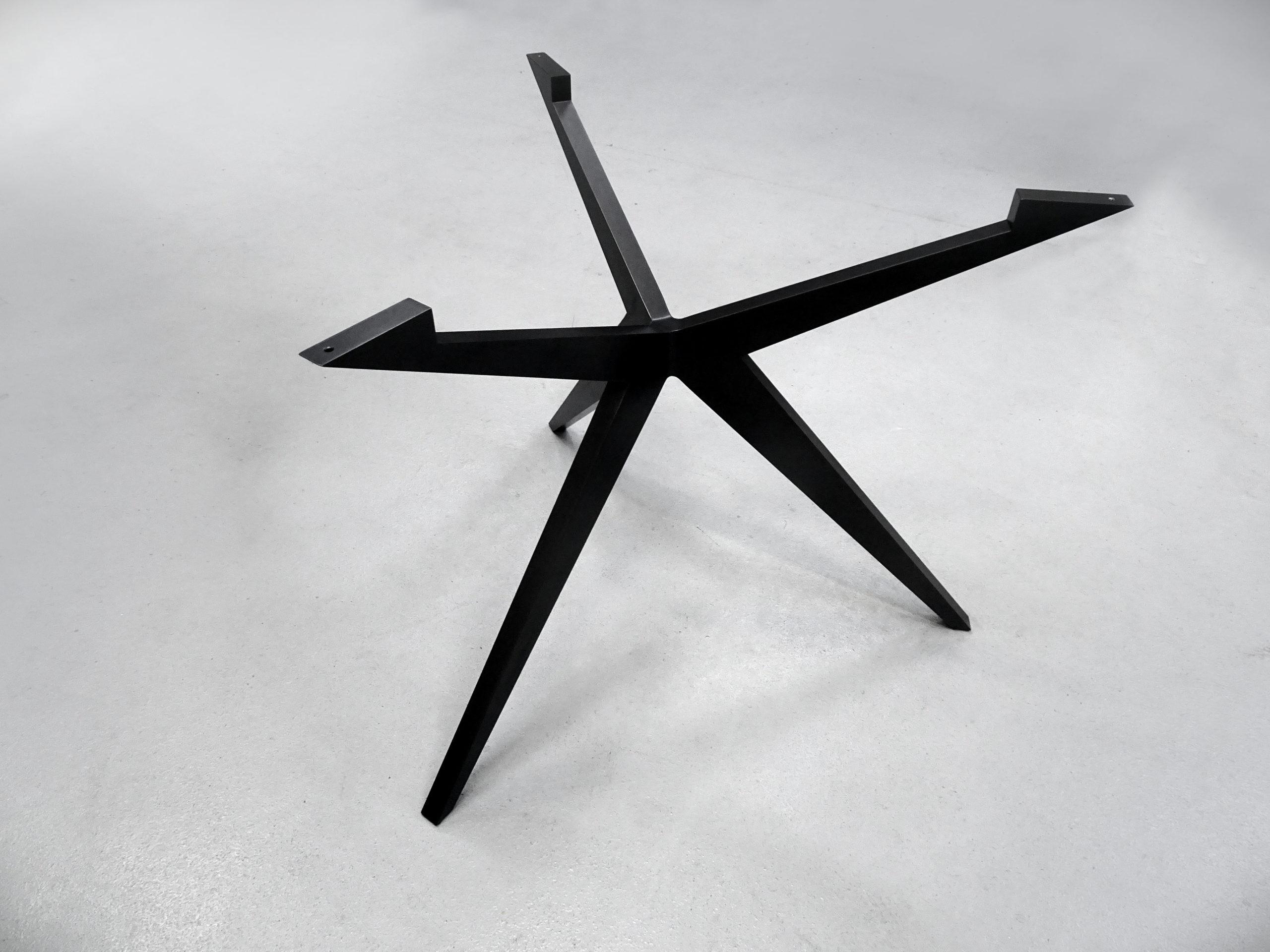 ARTMETA pied de table Papillon ronde alu sur mesure / Table Papillon Ronde