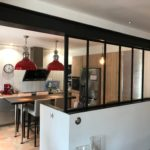 ARTMETA / verrière intérieure en acier Atelier / 6 travées