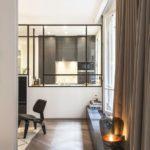 Verrière intérieure sur mesure en acier / Atelier Daaa à Paris