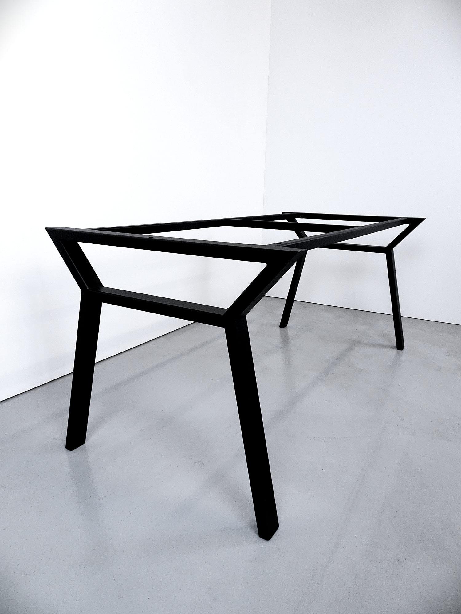 ARTMETA Pied de table Hameau acier sur mesure / Table Hameau