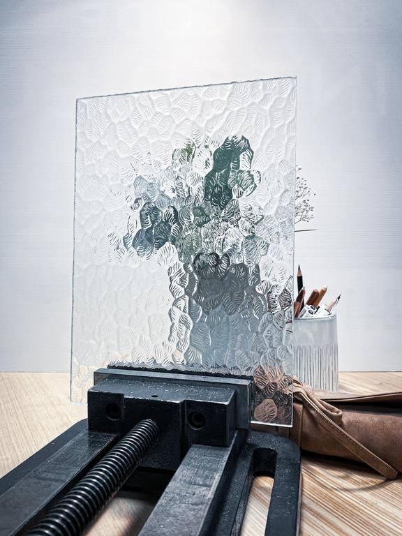 Verrière acier ARTMETA / Mixer différents types de verres / Verre DIAMANTE