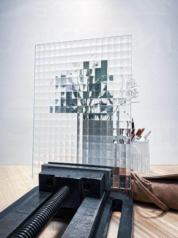 Verrière acier ARTMETA / Mixer différents types de verres / Verre LISTRAL N