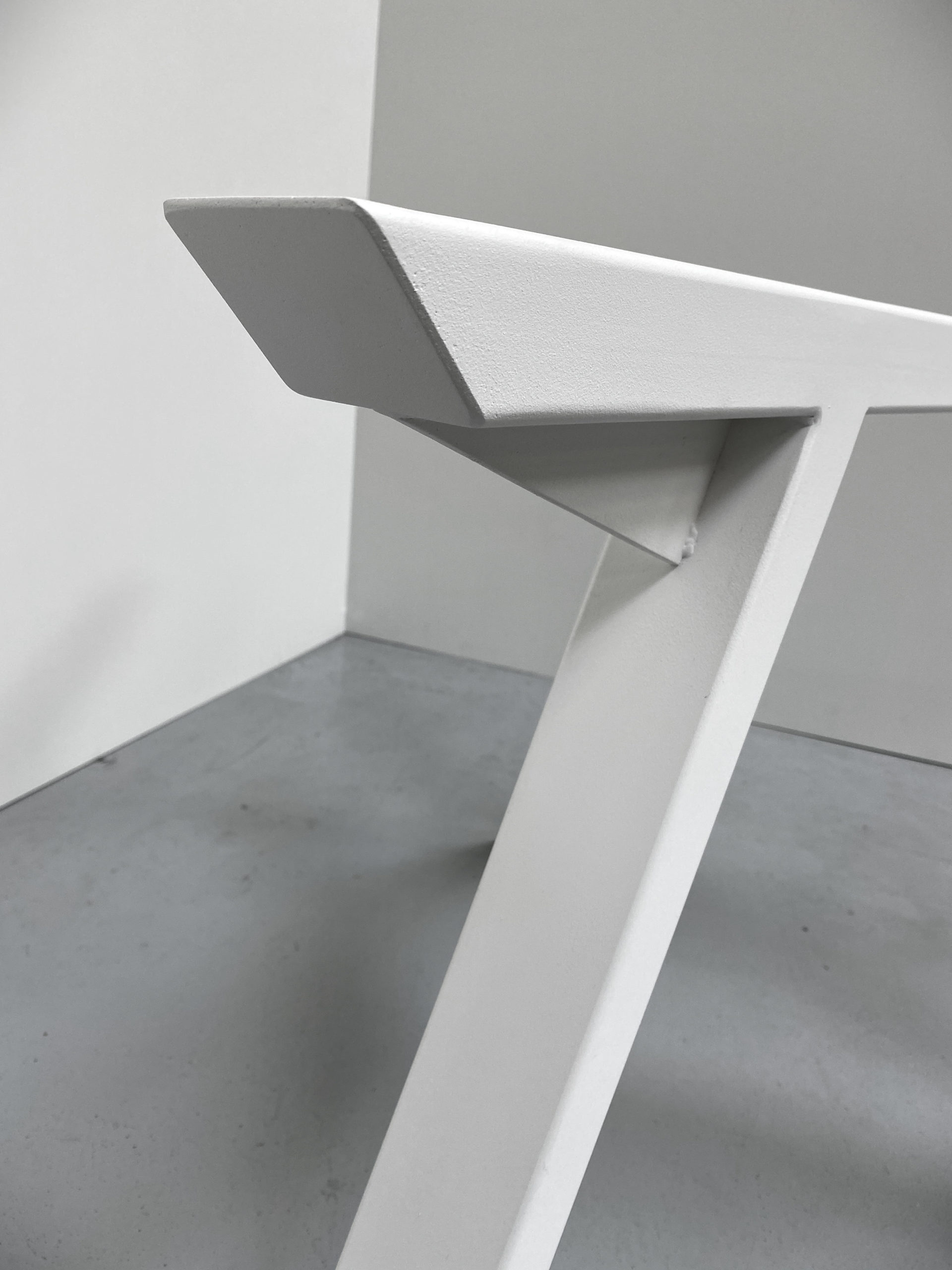 ARTMETA pied de table Tripode en acier sur mesure / Table Tripode