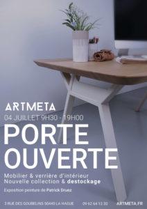 PORTE OUVERTE ARTMETA 2020