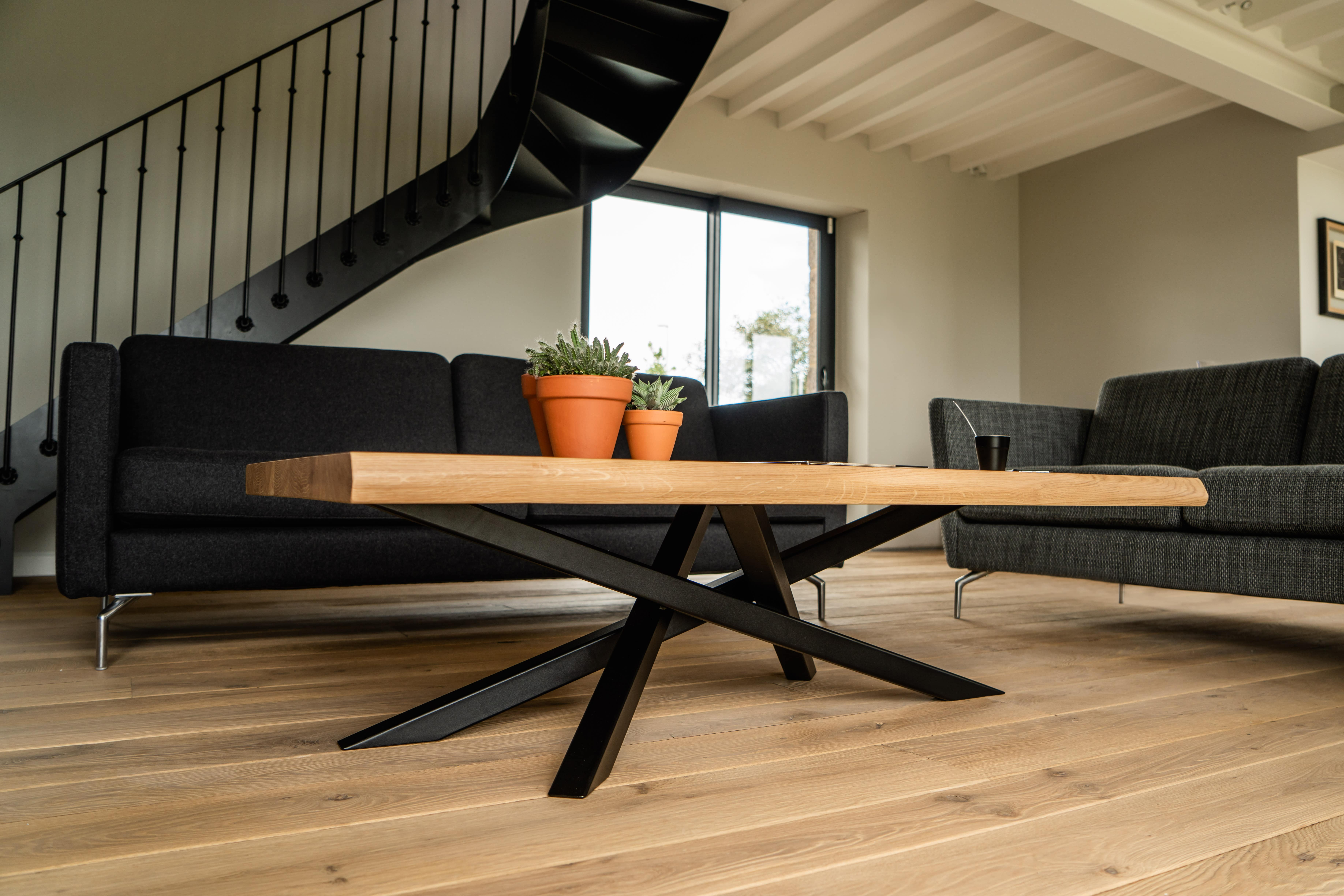 Table basse design Mikado