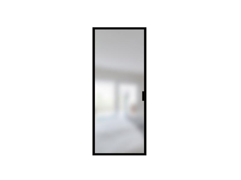 Porte en verre et acier sur mesure / ARTMETA