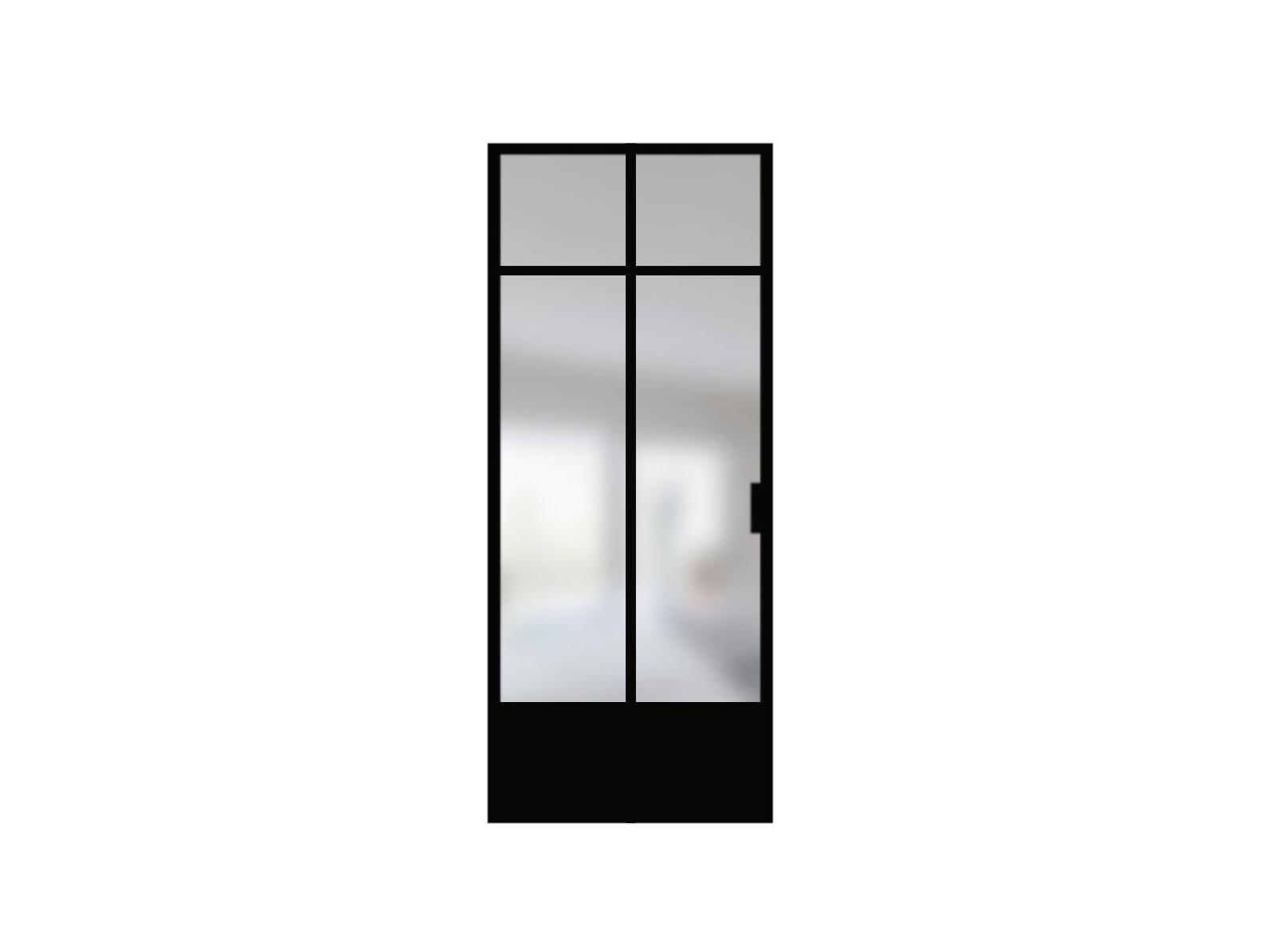 Bloc porte verrière style loft / ARTMETA