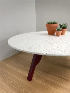 Table basse terrazzo Nageoire ARTMETA
