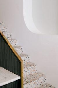 escalier terrazzo