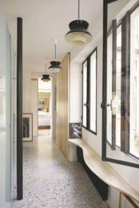 sol couloir terrazzo
