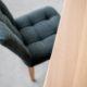 Table à manger Equilibre / Chêne blanchi / Fabrication artisanale ARTMETA
