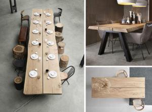 Plateau de table en 2 ou 3 parties